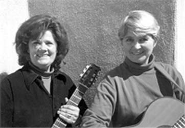 Carol and Susan Folk Singing duo Songs for Children of all ages