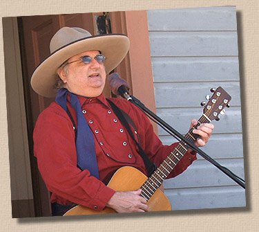 Photo by Tim Madsen 5-26-08 Lonesome Ron at the Depot - Rapidan, Minnesota