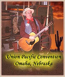 Lonesome Ron Yodeling - Union Pacific Party, Omaha Nebraska