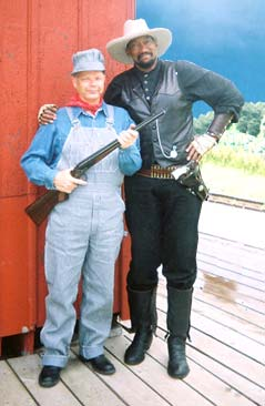 Ole Oleson and Bass Reeve