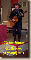 Lonesome Ron at Patee House - St Joseph, Missouri